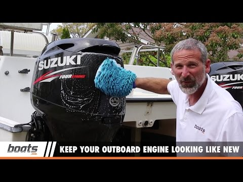 Boat Care and Maintenance: How to Keep Your Outboard Engine Looking Like New