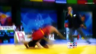 Amazing Back-Flip during the Final Wrestling Match