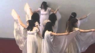 пасхальный танец . г. Красноярск . церковь Христос для всех народов