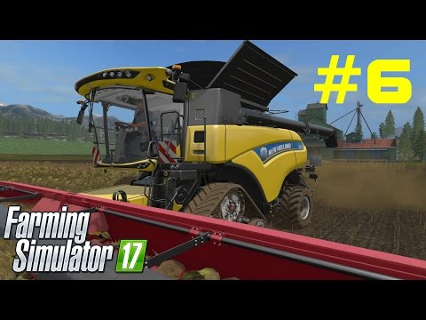 # 6 Farming Simulator 17 - Kupuję pług, Nowe misje NH CR10.90 - [SymulAnton] Gameplay