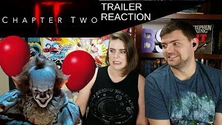 IT: Chapter 2 Teaser Trailer Reaction || BS Review IT Series