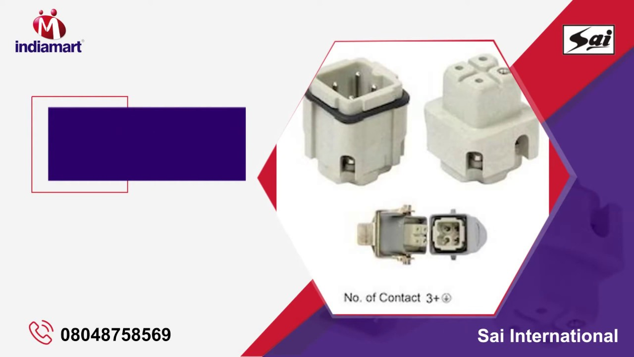 Heavy Duty Electrical Connector & Cable Gland Manufacturer - YouTube