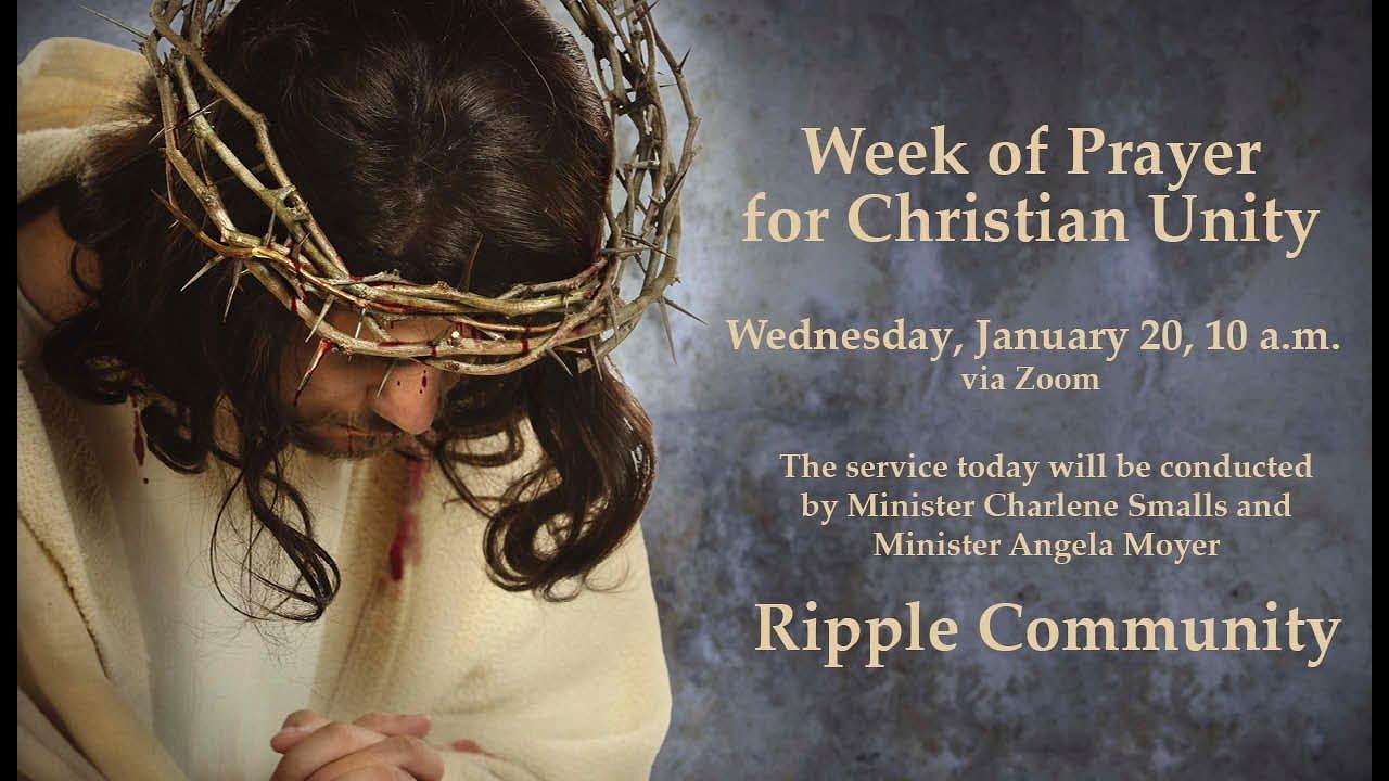 Week of Prayer for Christian Unity - Ripple Community