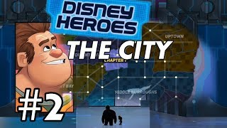 Disney Heroes: Battle Mode | Campaign - The city - Chapter 2