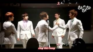 DBSK 동방신기 - HaHaHa 하하하 CF (School Ver) [eng + rom + hangul + karaoke sub]