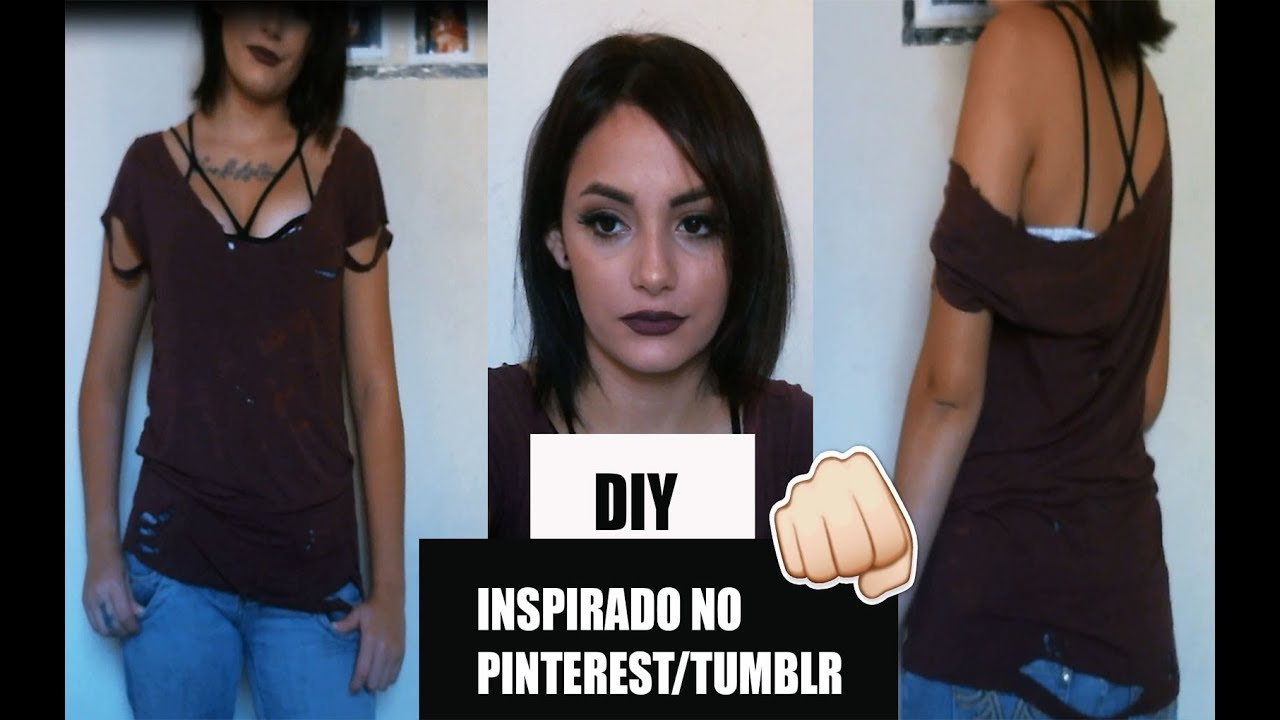 2c8a4beba2c4 2 DIY S INSPIRADOS NO PINTEREST   TUMBLR - YouTube