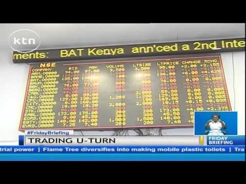 Tradings at Nairobi Securities Exchange take a U-turn