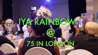 Iya Rainbow Celebrate 75Th and 50yrs on stage in London