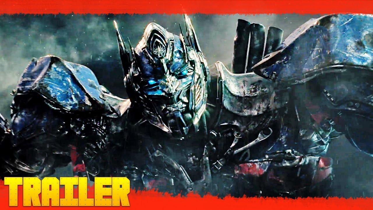 Transformers 5: El último caballero (2017) Primer Tráiler Oficial Español