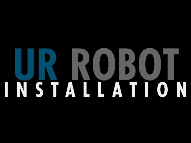 Step 3: Install UR Robot on VersaCart 1300