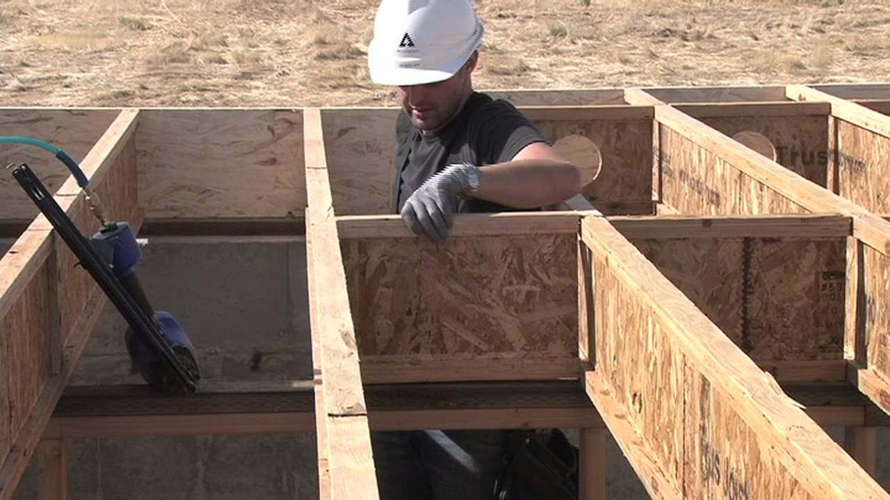 Detail B1w Trus Joist Ewp Floor Installation Guide
