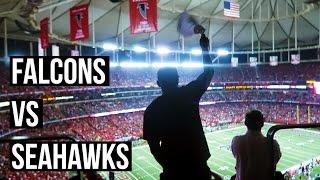 NFL PLAYOFFS | FALCONS - SEAHAWKS VLOG 🏈 [HD]