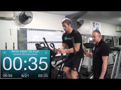 Cross trainer Interval Training