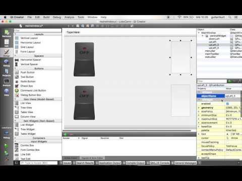 custom Button QT - YouTube