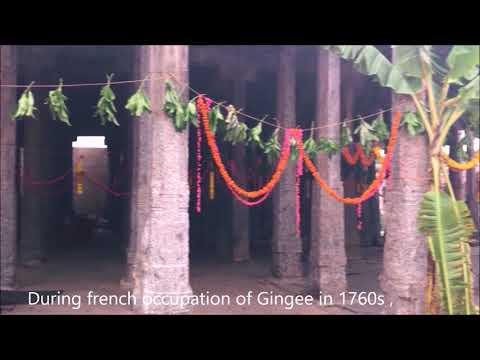 Gingee  temples, venkataramana and Siva temples