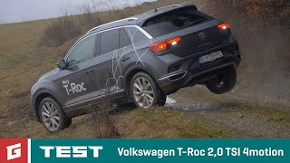 Volkswagen T-Roc 2,0 TSI 4MOTION - DSG TEST - GARAZ.TV