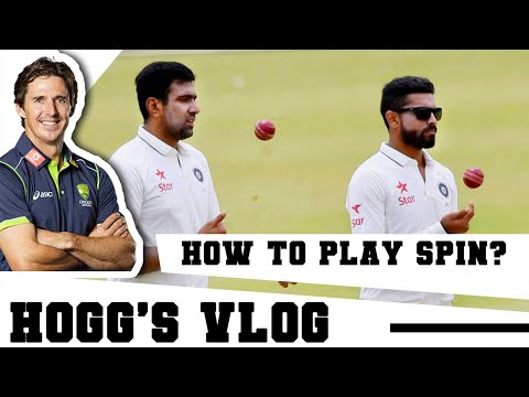HOW to play SPIN bowling? | #HoggsVlog | Cricket Tutorial