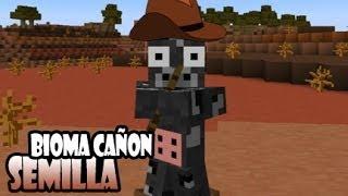Semilla 1.7.2 Bioma Gran Cañon [Minecraft] [Tutorial]
