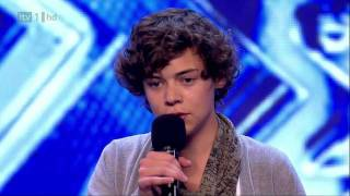 Harry Styles' X Factor Audition - The X Factor 2010 (Full Version) HD
