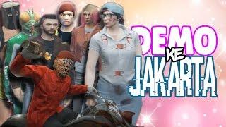 KONYOL & NGAKAK 😂 DEMO KE JAKARTA | GTA 5 ONLiNE INDONESiA