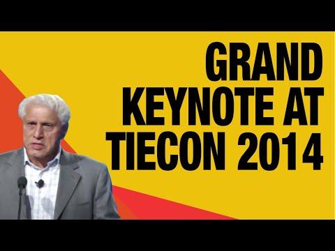 Dr Romesh Wadhwani, Founder and Chairman, Wadhwani Foundation - Grand Keynote at TiECON 2014