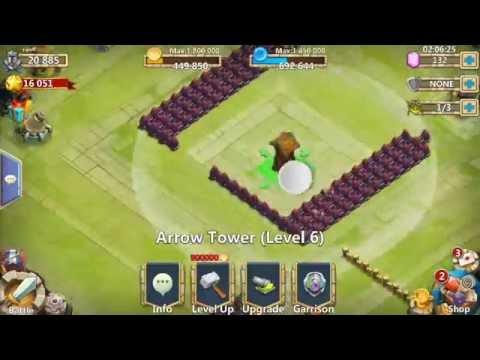 Castle Clash Level 15 Base Build