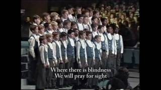 Instruments Of Your Peace - Drakensburg Boys Choir - w/ lyrics
