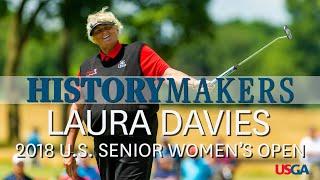 Laura Davies Dominates Inaugural U.S. Senior Women's Open: History Makers