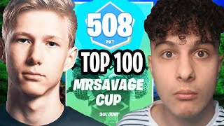 Top 100 im MrSavage Cup um 10.000€ in Fortnite Deutsch