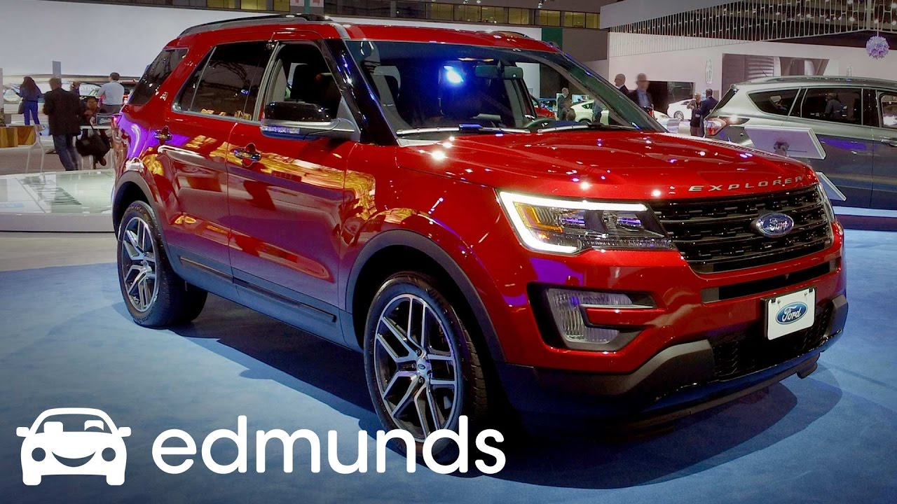 2017 Ford Explorer Review Features Rundown Edmunds