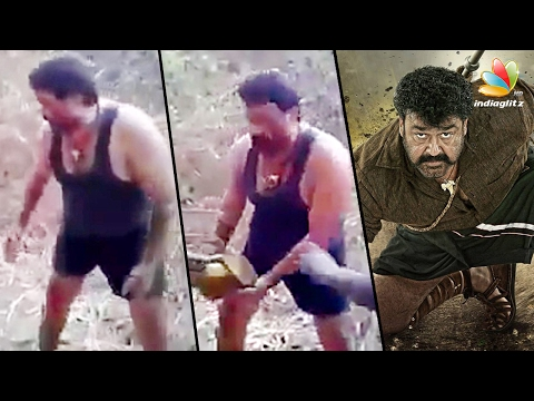 Mohanlal worked along with crew members during Puli Murugan shoot | latest Malayalam Cinema News