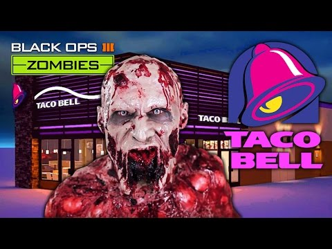 TACO BELL MAP - BLACK OPS 3 ZOMBIES MOD