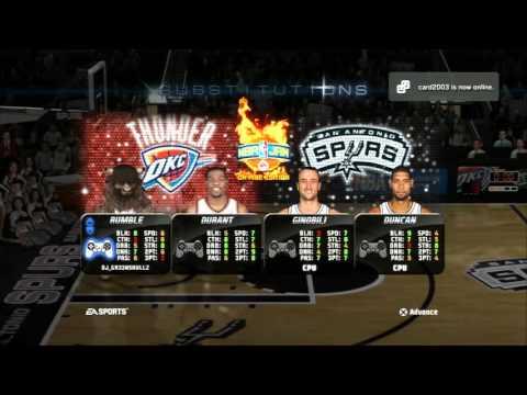 NBA Jam: On Fire Edition -- OKC vs. SAS // ATL vs. DAL