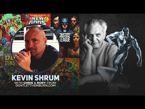 Kevin Shrum - The Mysteries of Comic Books Exposed, Jack Kirby, Gnosticism, Demigods and More