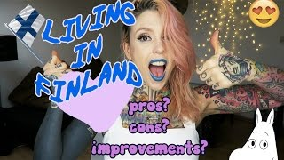 LIVING IN FINLAND! | mini story time: my experience, pros, cons & improvements? thumbnail