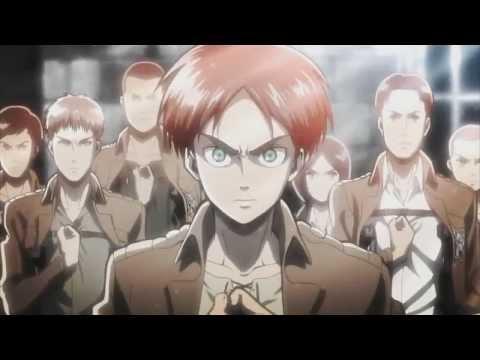 Shingeki no Kyojin Attack on Titan Opening OP Guren no Yumiya Linked Horizon Extended Ver