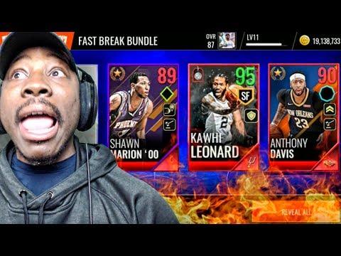 95 OVR KAWHI LEONARD & BLACK FRIDAY PACK OPENING! NBA Live Mobile 18 Gameplay Ep. 16