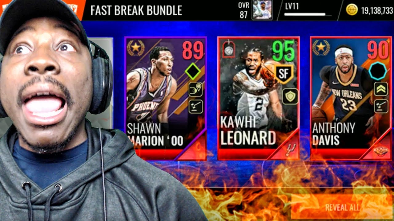 34d8817f289 95 OVR KAWHI LEONARD   BLACK FRIDAY PACK OPENING! NBA Live Mobile 18 Gameplay  Ep. 16