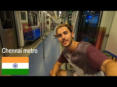 Foreigner On AWESOME CHENNAI Metro | Chennai, Tamil Nadu
