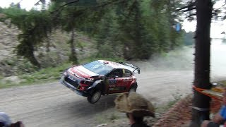 Flying WRC cars- Jump compilation