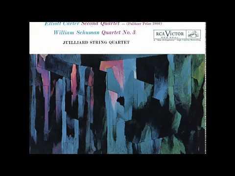 Elliott CARTER, William Schuman: String Quartets / JUILLIARD STRING QUARTET