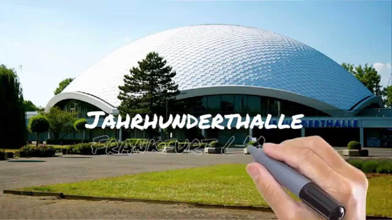 Parkplatz Jahrhunderthalle Frankfurt
