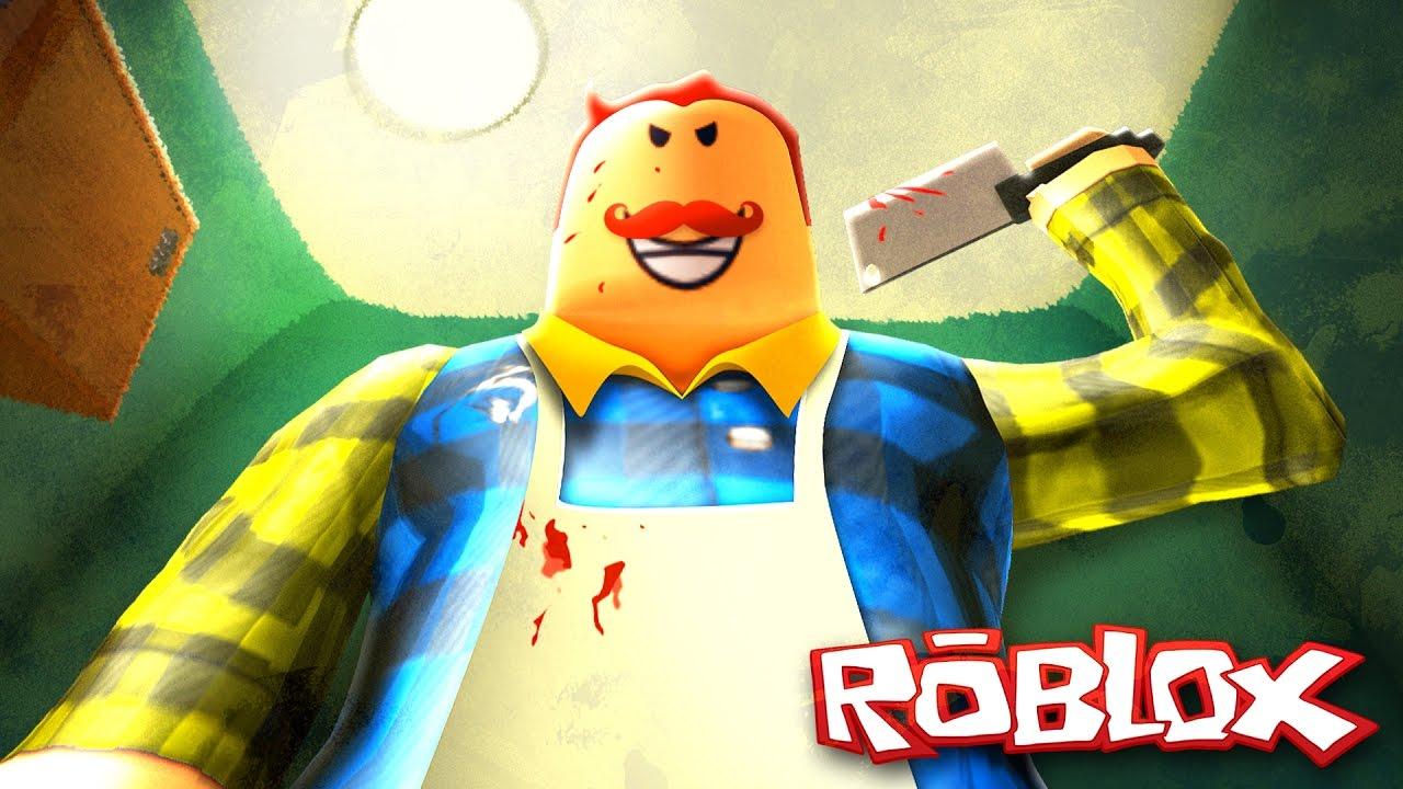 hello neighbor roblox games