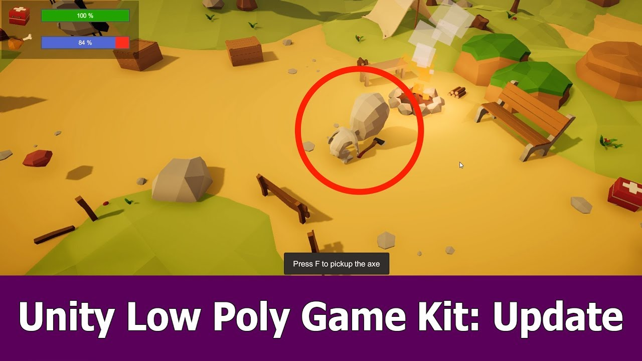 Free Low Poly Unity Game Asset - New Features