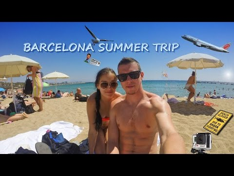 Barcelona Summer Trip 2015 | GoPro Edit