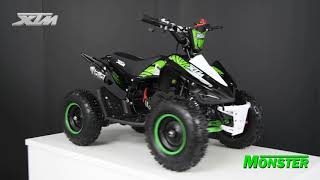 Kids Xtreme XTM Monster Petrol 50cc 2-Stroke Mini Quad Bike - www.Xtreme-Toys.co.uk
