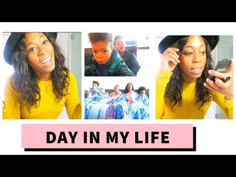 DAY IN MY LIFE  + CO-PARENTING THRU THE HOLIDAYS