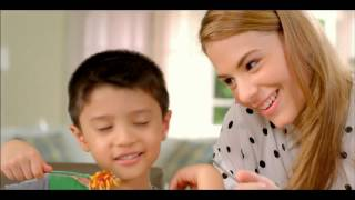 Jollibee USA Spaghetti TVC 2014 (TFC /GMA Pinoy TV Airing)- Gavin/Roland/Tina/Kraut