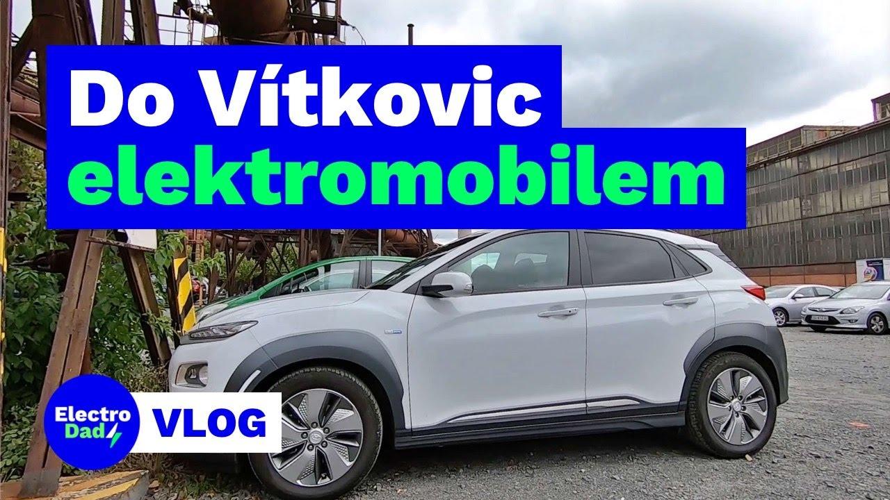 Brno - Vítkovice a zpět elektromobilem (vlog) | Electro Dad # 225