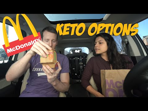 What's Keto Friendly at McDonald's? 13 Different Orders + Taste Test!